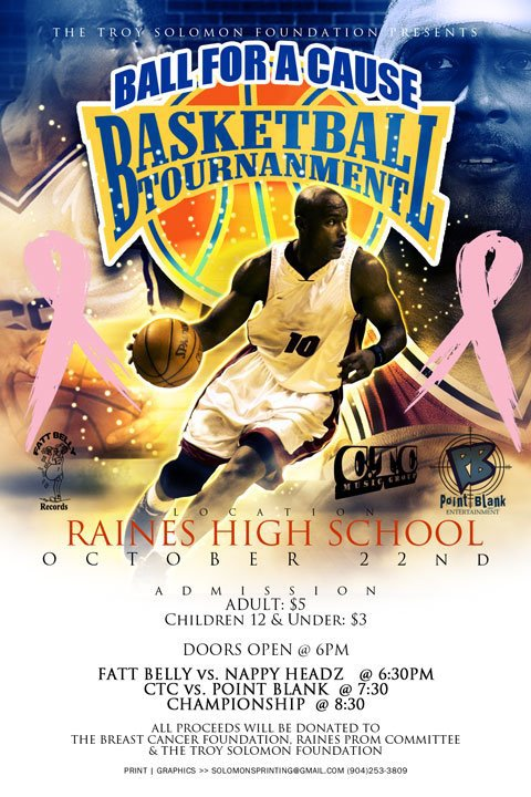 CTC Breast Cancer Basketball Tournament
